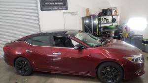 Nissan Maxima Roof Wrap